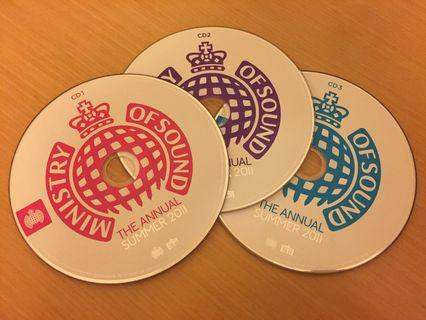 Ministry of Sound - The Annual Summer 2011 CDs