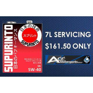 Servicing Package - Supurinto SN 5W40