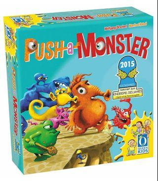 Push a Monster Board Game