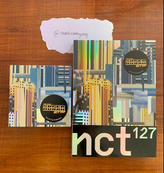 NCT 127 We Are Superhuman Official Albums