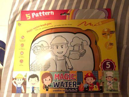 Magic water creative water canvas