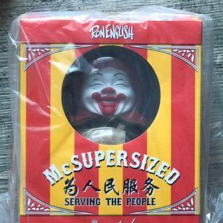 《全新》Ron English 肥麥 MC Supersized  為人民服務 Hong Kong Limited Version
