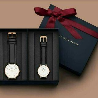 Jam Daniel Wellington Set Couple