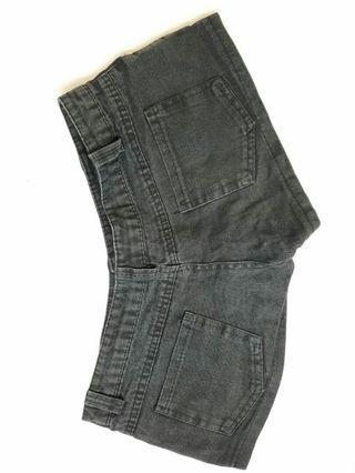 黑色短牛仔褲 短褲