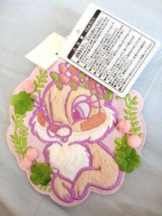 🚚 迪士尼兔子小姐的票卡零錢包