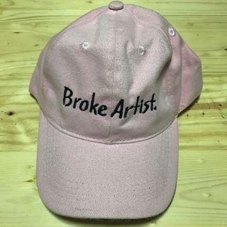 Baseball Cap Broke Artist topi baseball