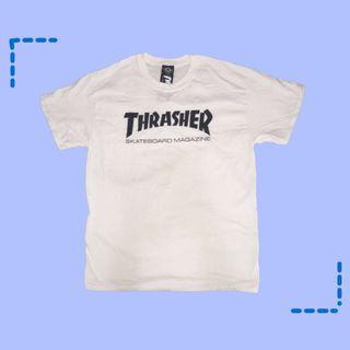 正版Thrasher t-shirt 踢恤短袖上衣全新潮男穿搭
