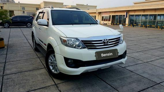 Toyota Fortuner TRD G Lux 2.7 At 2013 Dp25 jt