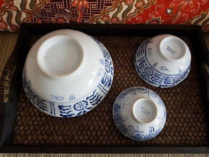 Vintage bowls (6 pcs)