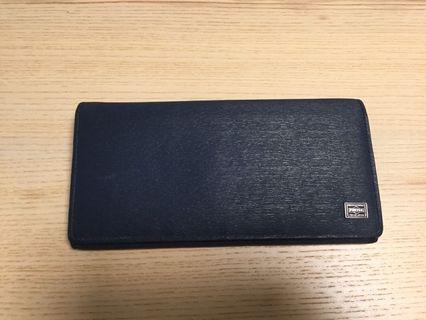 Buy Porter Tokyo Japan wallet navy blue cow leather(價可議)
