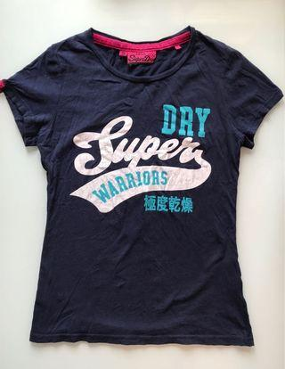 Superdry Navy Blue Tee (include sf express)