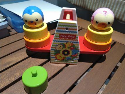 Fisher price stacking fun