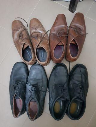 Leathers shoes