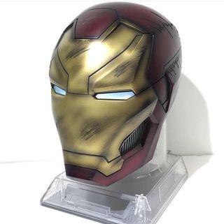 戰損版鋼鐵人 Mark46 頭盔 1:1 藍牙喇叭