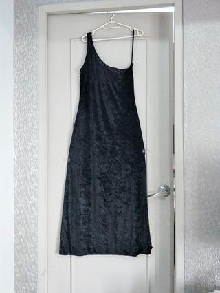 Venus Cut Long Slit Maxi Dress