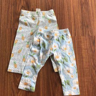 Gingersnaps leggings (0-6months)