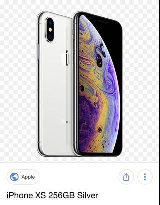 🚚 WTB iPhone XS 256 gb Silver/ white (looking to buy)