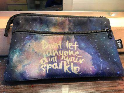 Typo Pencil Case Don't Let Anyone Dull your sparkle #CarousellFaster