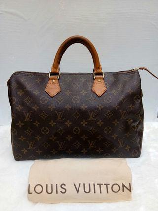 Cheapp!! Louis Vuitton Speedy 30 Authentic