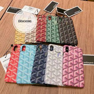 Goyard iphone7-XR Casing