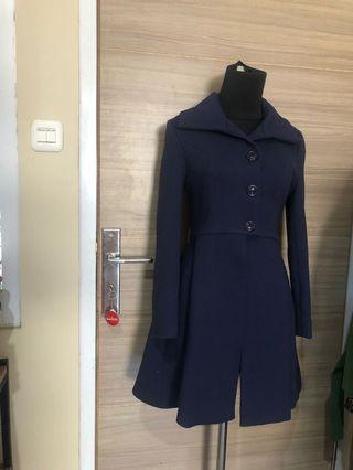 Navy Coats covet by love Bonito