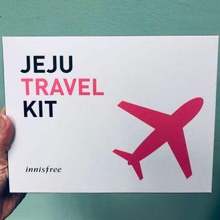 🚚 BN Innisfree Jeju Travel Kit