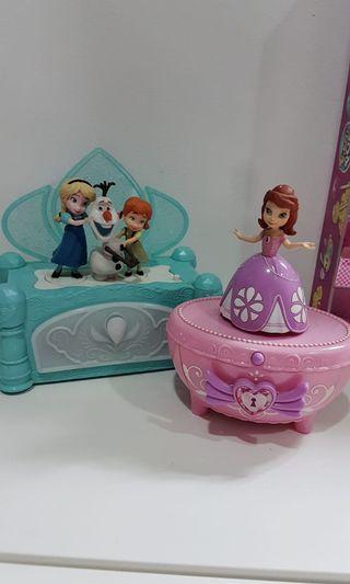 Sofia & Frozen musical box