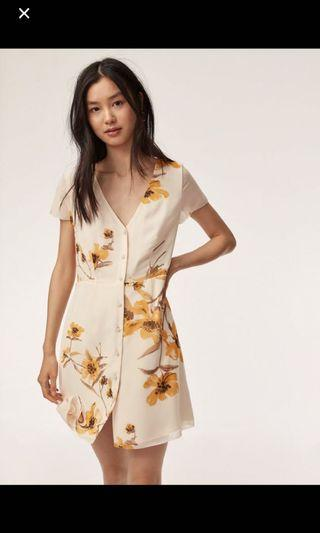 Aritzia Wilfred nazaire dress