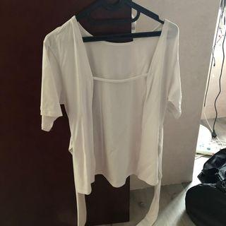 White Top backless