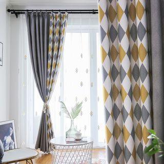 Custom Made Nordic Design Night Curtain & Day Curtain