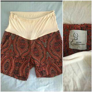 Large Maternity Shorts