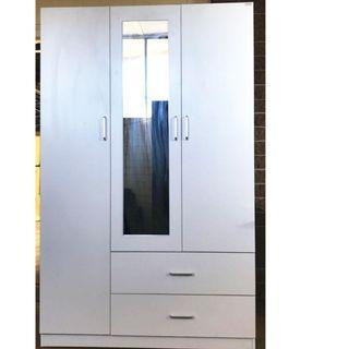 SALE ! 3 door 2 drawer Wardrobe at $340