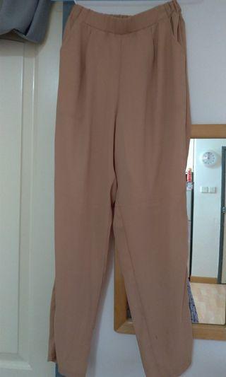 Chiffon nude Formal slacks/Pants