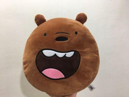 熊熊遇見你 大大抱枕