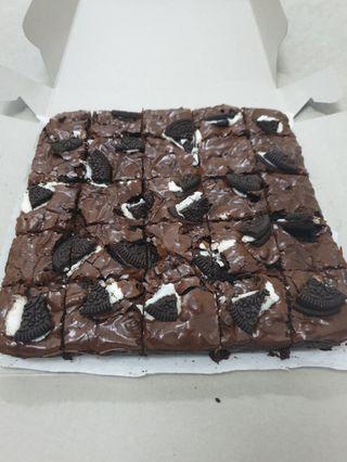 Brownies oreo premium ingredients
