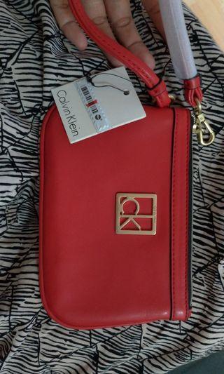 Original Calvin Klien hand bag/pouch/wallet