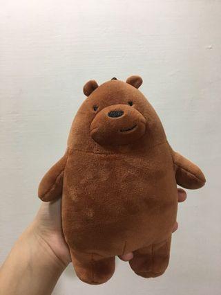 熊熊遇見你 棕熊大大布偶