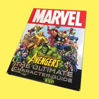 Marvel Universe Encyclopedia 漫威角色圖鑑 美漫