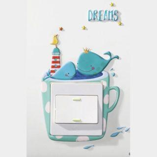Adorable Wall Switch Stickers