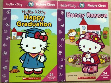 Scholastic Hello Kitty Picture Clues story books