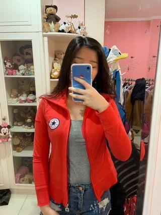 Red Jacket converse (jaket merah) asli