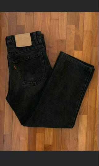 LEVIS black highwaist jeans , boyfriend cut