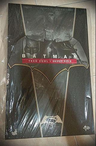 (WTS) Hot Toys MMS 342 Batman v Superman: Dawn of Justice BATMAN w/ Tech Cowl & Sniper Rifle