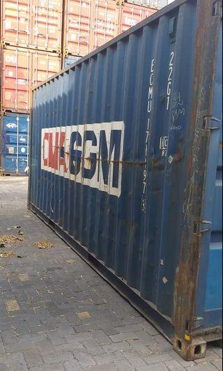 Container 20feet dan 40feet second