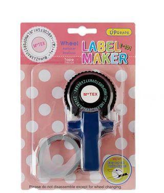 韓國Motex 標籤機 打印 字母數字 label 可貼