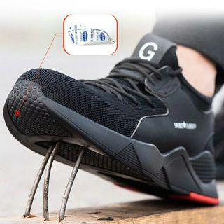 🚚 [po]Steel toe industrial breathable shoes