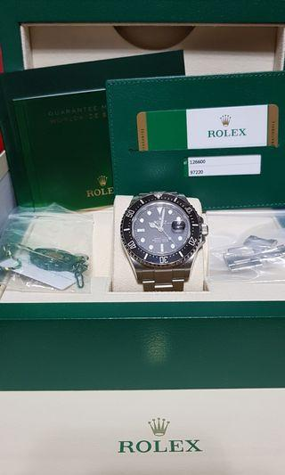 🚚 WTS: LNIB Rolex Sea Dweller 126600 Mk1 Upright Crown