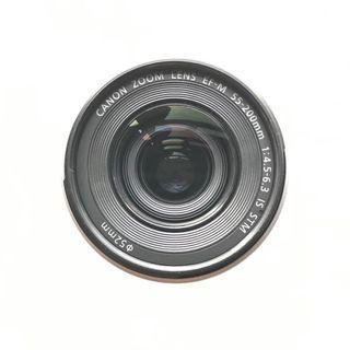Canon EF-M 55-200mm f/4.5-6.3 IS STM + warranty + HOYA