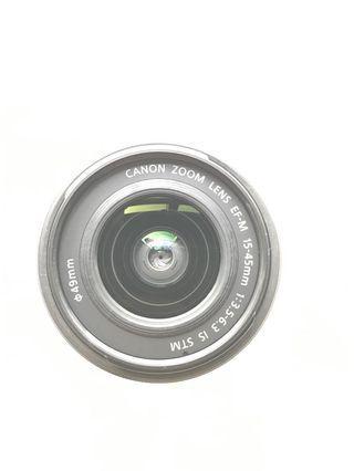 Canon EF-M 15-45mm f/3.5-5.3 IS STM + warranty + HOYA