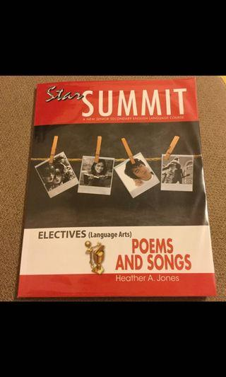 Star Summit Electives Poems and Songs, Star Summit Electives Short Stories
